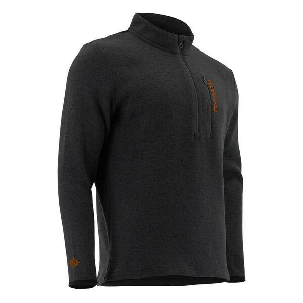 Nomad Men's Slaysman Heathered Quarter-Zip Pullover