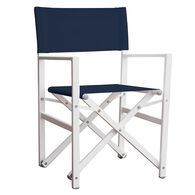 Studio Aluminum Folding Director's Chair, Navy