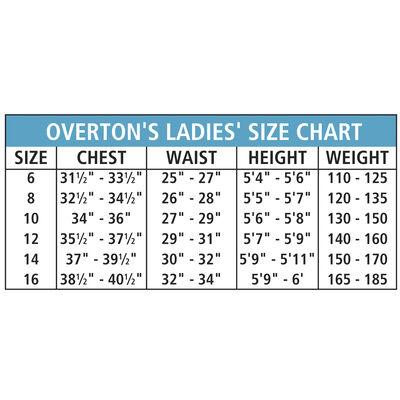 Women's Overton's Neoprene Shorts - Black - 8