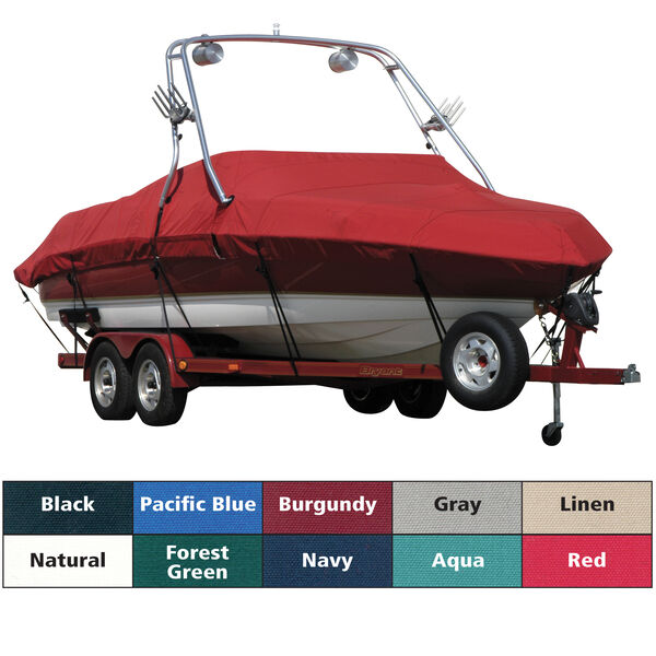 Sunbrella Boat Cover For Sea Ray 240 Sundeck W/Xtreme Tower Rear Facing
