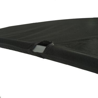 "Twin Top Pontoon Bimini Top, SurLast Polyester, 1-1/4"" Frame, 96""-102"" Wide"