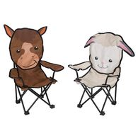 Hudson The Horse & Wooly the Lamb Chairs, 2 Pack