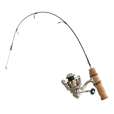 13 Fishing MicroTec Panfish Ice Combo with Titanium Spring Bobber
