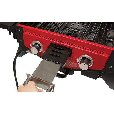 Smoke Hollow Vector Series Smoking Tabletop 3-Burner Gas Grill