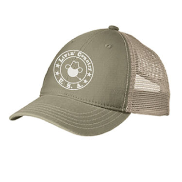 Livin' Country Men's Distressed Logo Cap