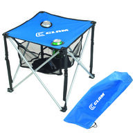 Clam Quick-Pack Square Folding Table With Carry Case