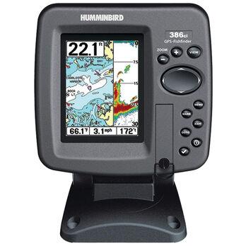 Humminbird 386ci Fishfinder Chartplotter Combos