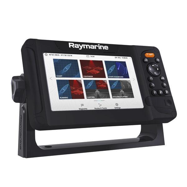 Raymarine Element 7 HV GPS Fishfinder w/Navionics Nav+ US & Canada Charts, no transducer