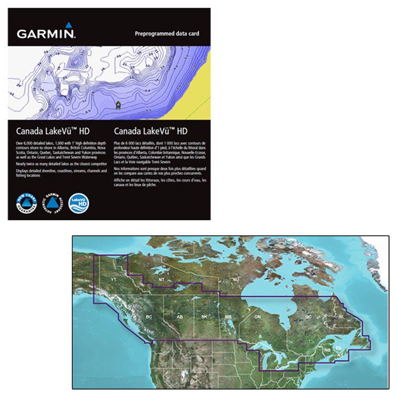 Garmin Canada LakeVu HD MicroSD/SD Card For GPSMAP Series Montana/Oregon image number 1