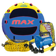 Gladiator Max Deck Rider 3-Person Towable Tube Package