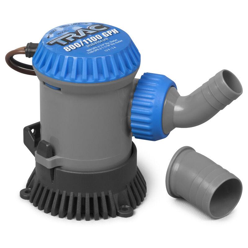 TRAC Submersible 800/1100 GPH Bilge Pump image number 1