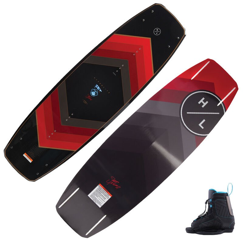Hyperlite Murray 120 Wakeboard With Remix Bindings image number 2