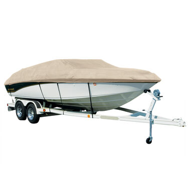 Covermate Sharkskin Plus Exact-Fit Cover for Glastron Gx 185  Gx 185 Ski & Fish W/Port Trolling Motor I/O
