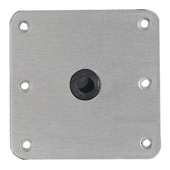 "Swivl-Eze Lock 'N Pin 3/4"" Pin Base Plate, 7"" x 7"""