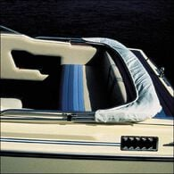 "Shademate Replacement White Vinyl Bimini Storage Boot, 61""-66"""