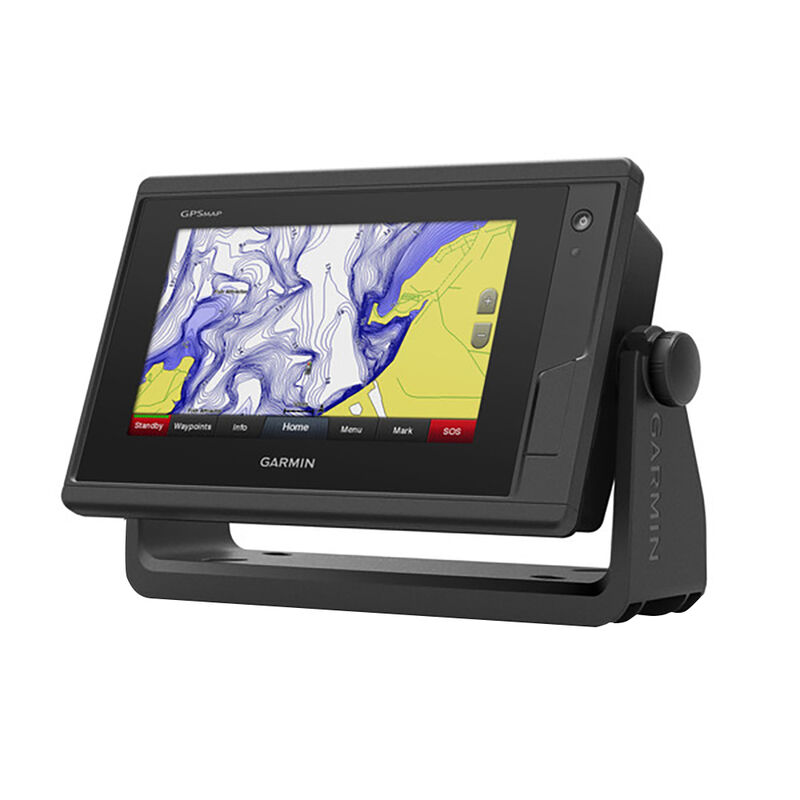 """Garmin GPSMAP 722 7"""" Touchscreen Chartplotter With No Sonar image number 1"""
