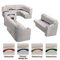Toonmate Premium Pontoon Furniture Rear Entry Wraparound Package