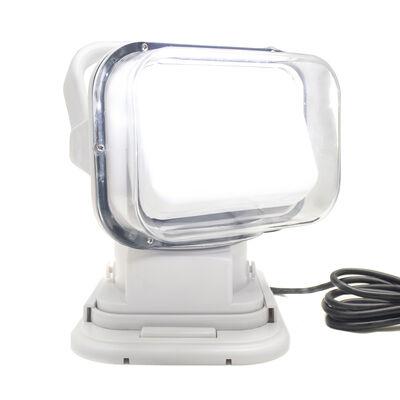 Race Sport Motorized 50W LED Spotlight with Remote, White