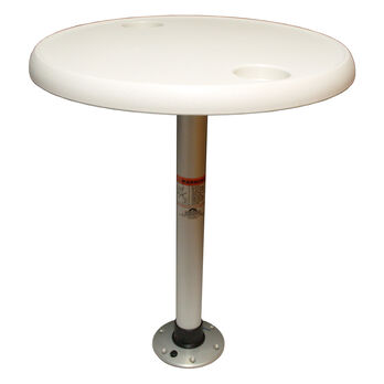 Springfield Round Table Package With Thread-Lock Pedestal