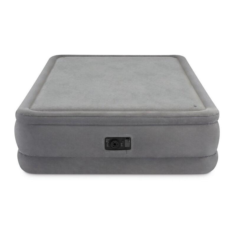 Intex Dura-Beam Foam-Top Airbed, Built-In Pump, Queen image number 2