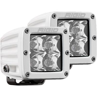 D-Series PRO Hybrid-Spot LED - Pair - White