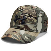 Under Armour Men's Camo Stretch-Fit Cap