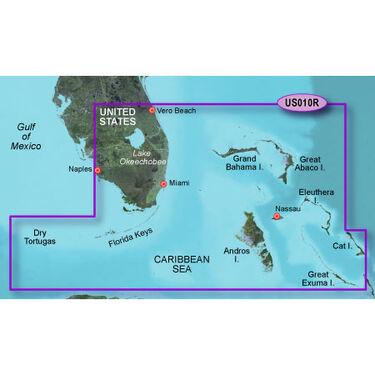 Garmin BlueChart g2 Vision - Southeast Florida