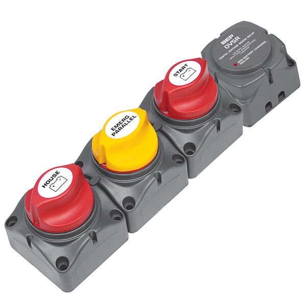 Marinco Horizontal Battery Distribution Cluster