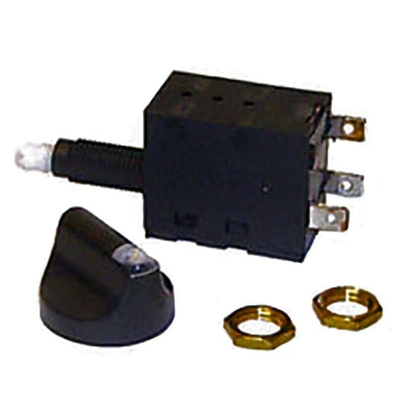 Sierra Rotary Switch Off/On/On SPDT, Sierra Part #MP78830 image number 1