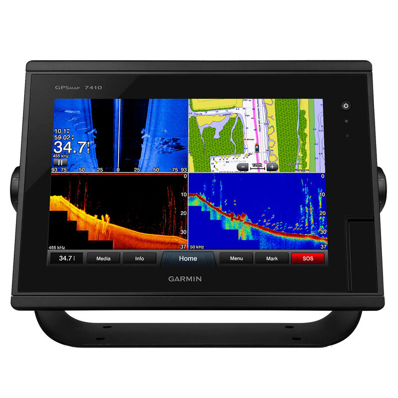 """Garmin GPSMAP 7410 10"""" Touchscreen Chartplotter With J1939 Port image number 1"""