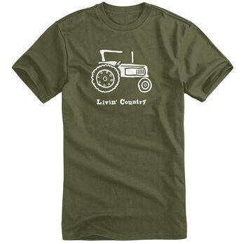 Livin' Country Men's Tractor Short-Sleeve Tee