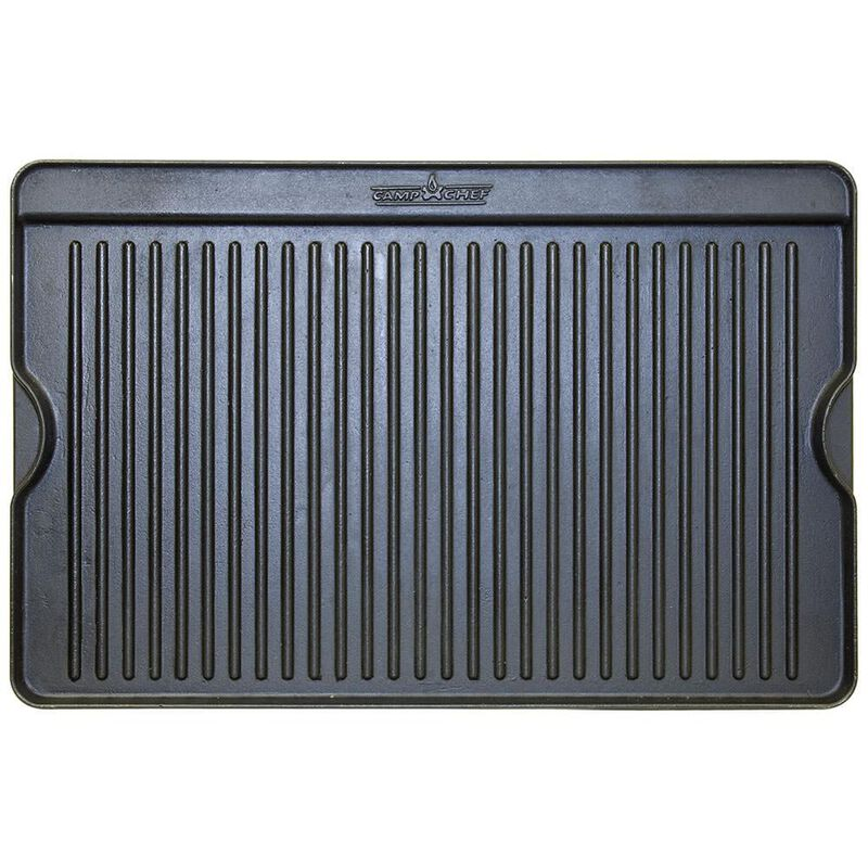 Camp Chef Reversible Cast Iron Grill & Griddle image number 1