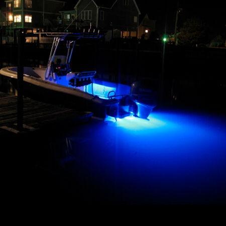 TH Marine High Intensity LED Underwater Light Blue