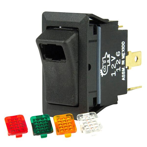 BEP SPST Rocker Switch, Off/On, Interchangeable Lens