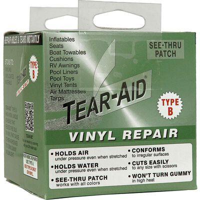 "Tear-Aid Vinyl Repair Kit, Type B, 3"" x 60"""