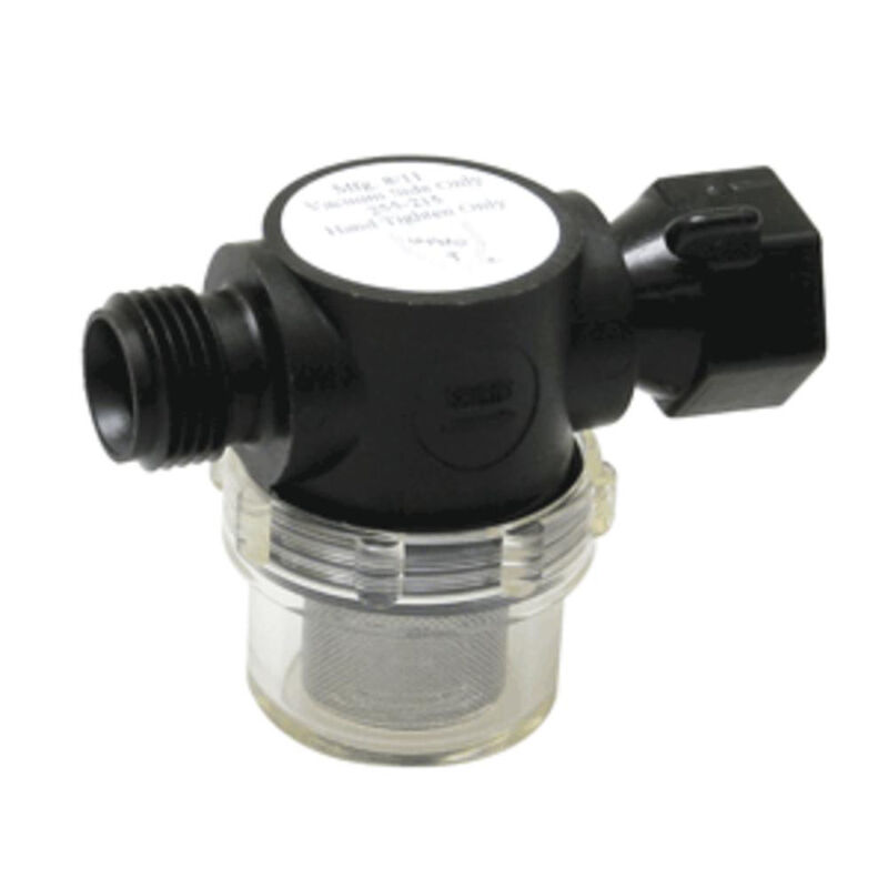 """Shurflo Swivel Nut Strainer with 1/2"""" Pipe Inlet image number 1"""