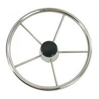 "Whitecap Destroyer 15"" Steering Wheel with Black Cap"