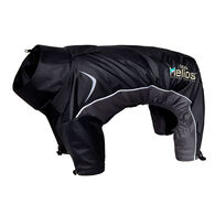 Helios Blizzard Full-Bodied Adjustable and 3M Reflective Dog Jacket, Black, X-Small