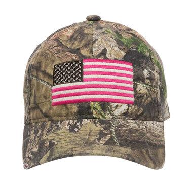 Outdoor Cap Men's Americana Flag Logo Camo Cap