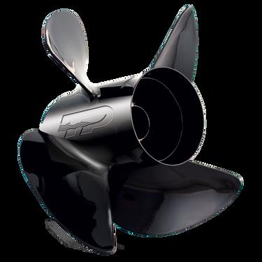 Turning Point Hustler 4-Blade Modular Prop / Aluminum, 13 dia. x 19 pitch, RH