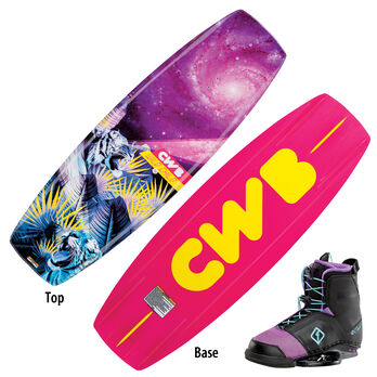 CWB Wild Child Wakeboard With Ember Bindings