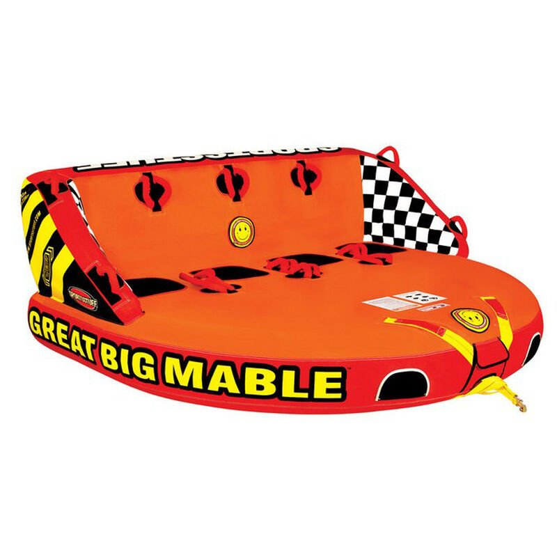 """Great Big Mable Towable, 92""""L x 106""""W image number 1"""