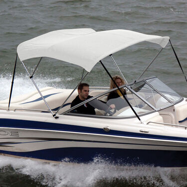 """Shademate Bimini Top Sunbrella Fabric and Boot Only, 3-Bow 5'L, 32""""H, 67""""-72""""W"""