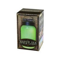 Color Changing Mason Jar Style Light