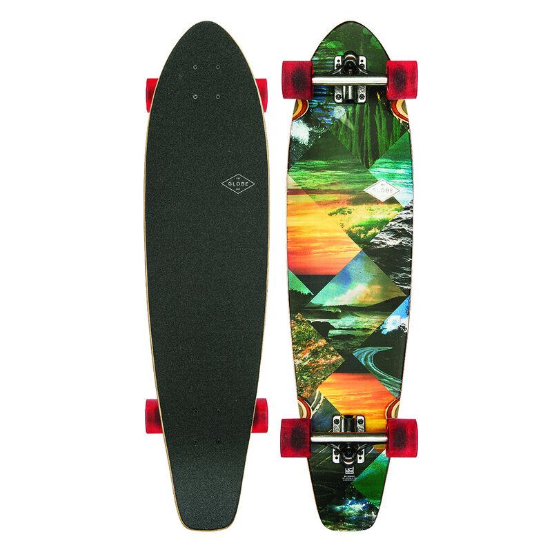 Globe All-Time Longboard Complete Skateboard image number 1