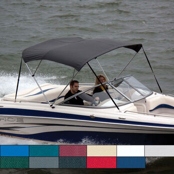 "Bimini Top Polyester Fabric and Boot Only, 3-Bow 6'L, 46""/54""H, 67""-72""W"