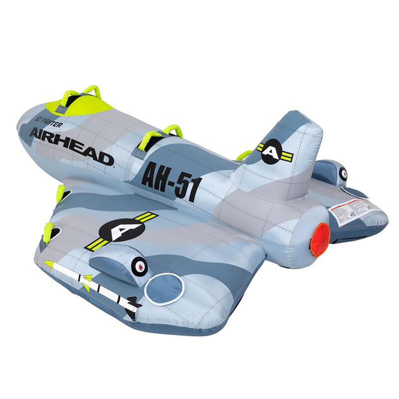 Airhead Jet Fighter 4-Person Towable Tube image number 16