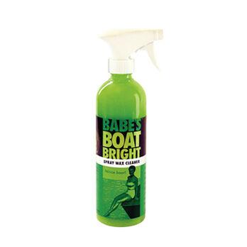 Babe's Boat Bright Spray Wax Cleaner, 16 oz.