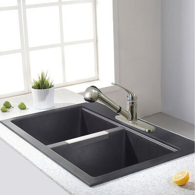 Empire RV Metal Pull-Out Kitchen Faucet