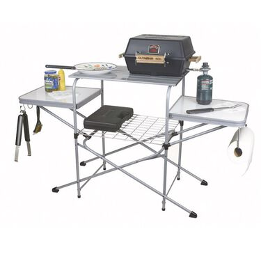 Camco Deluxe Folding Grill Table